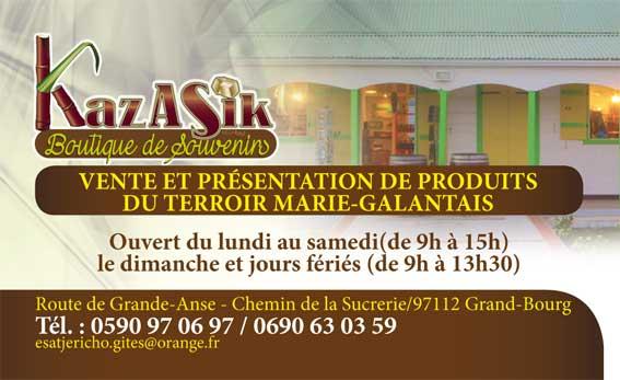 Restaurant kazasik le jardins des 4 epices for Jardin 4 epices marie galante